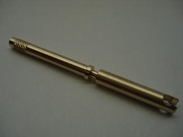 真鍮 ローレット加工品
