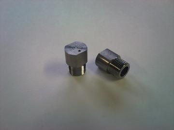S45Cの偏心穴加工品