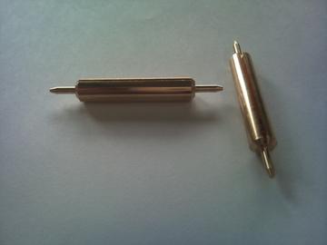 真鍮C3604 スリ割り 切削加工品