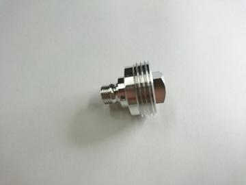 アルミ複合加工 プラグ形状/ニップル形状の加工