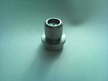 S45C プラグ形状 NC自動旋盤でのザグリ加工